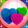 Fluffy Hearts Live Wallpapers Icon