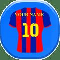 كتابة إسمك على قميص فريقك المفضل 2017 Icon