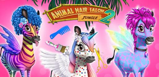 Jungle Animal Hair Salon 2 - Tropical Beauty Salon apk