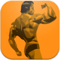Bodybuilding Fitness Workouts Icon