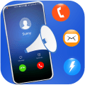 Caller Name Announcer and Flash Alerts: Hands-Free Icon