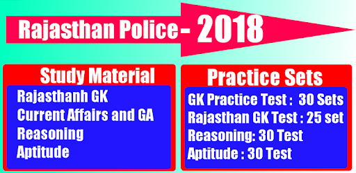 Rajasthan Police 2021 - SI and Constable apk