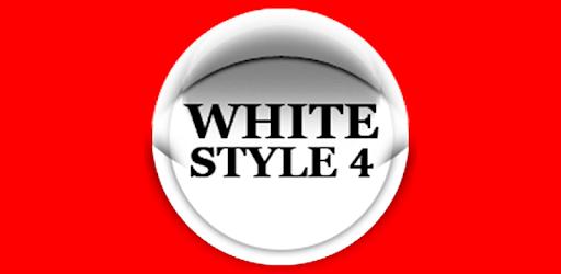 White Icon Pack Style 4 ✨Free✨ apk