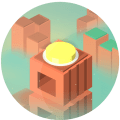 Level Up Button 2nd Anniversary Icon