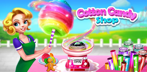 💜Cotton Candy Shop - Cooking Game🍬 apk