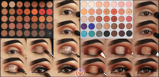 i learn to make up (face, eye, lip) apk