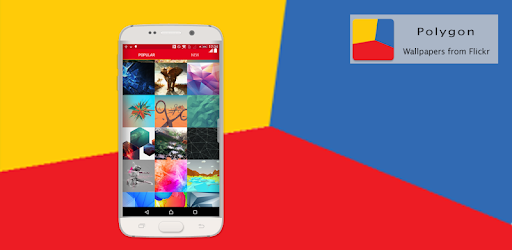Polygon Wallpapers from Flickr apk