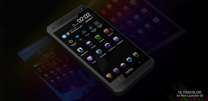 Next Launcher Theme UltraColor apk