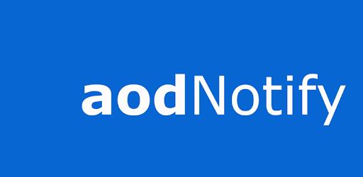 Notification Light / LED Note10, S10 - aodNotify apk