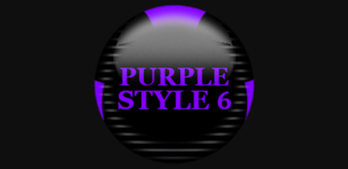 Purple Icon Pack Style 6 ✨Free✨ apk