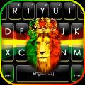 Reggae Lion Crown Keyboard Theme Icon