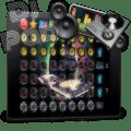 Electronic Trance Dj Pad Mixer Icon