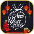 New Year 2021Greeting Card Maker App Icon