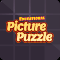 Educational Picture Puzzle Icon