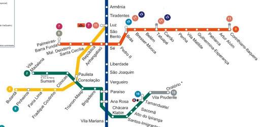 Sao Paulo metro map apk
