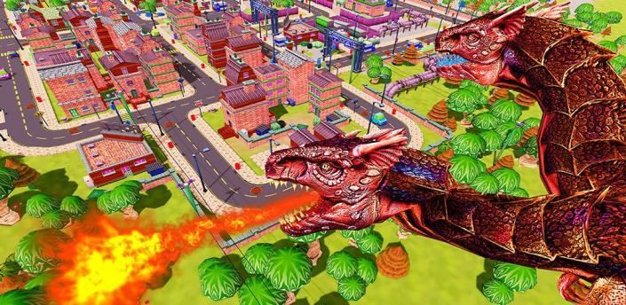 Flying Dragon City Attack apk