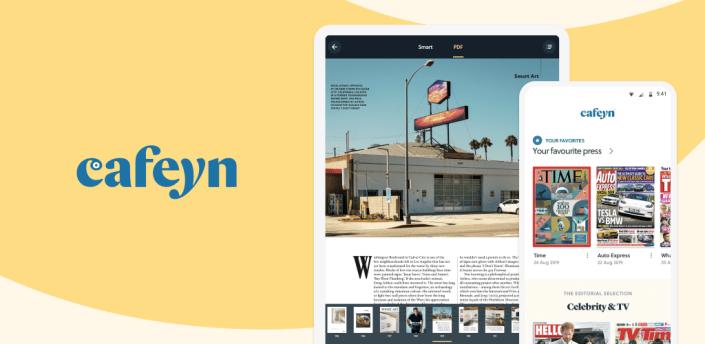 CAFEYN – News and magazines apk