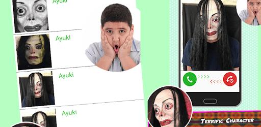 Ayuwoki no speaking Fake Call Simulator apk
