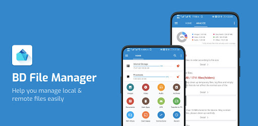 BD File Manager - File Analysis & Junk Cleaner. apk