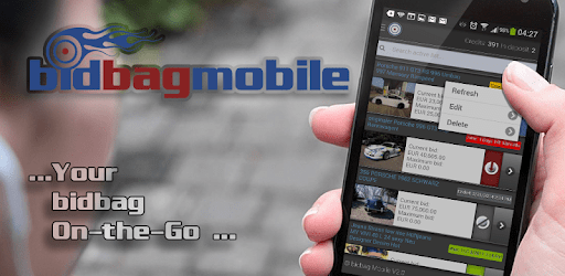 Sniper for eBay   Place automatic bids with bidbag apk