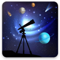 Astronomy Events with Push Icon