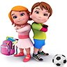 Learning for Kids Icon