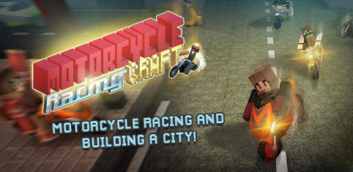 Motorcycle Racing Craft: Moto Games & Building 3D apk