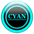 Cyan Glass Orb Icon Pack v3.0 Icon