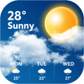 Today's Weather - Local Weather Forecast Channel Icon