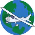 Fly and Explore World Icon
