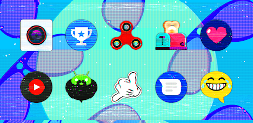 Glitch - Icon Pack apk
