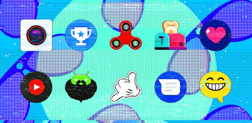 Glitch - Icon Pack apk