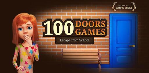 100 Doors Games 2020: Escape from School apk