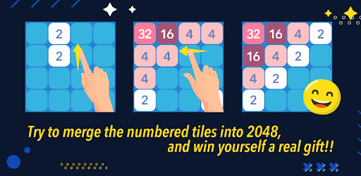 2048 Giveaways: Number Puzzle Game apk