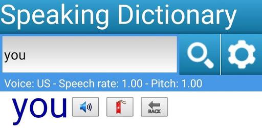 Speaking Dictionary apk