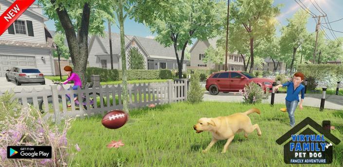 Virtual Dog Home Adventure Family Games apk