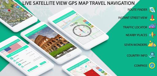 Live Satellite View GPS Map Travel Navigation apk