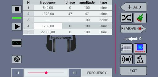 Multi-wave sound generator apk