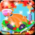 Thanksgiving Turkey Decor Icon