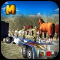 4x4 Animal Transport Truck 3D Icon