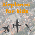 Airplanes for kids - free Icon