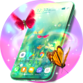 Butterfly Animated Keyboard & Live Wallpaper Icon