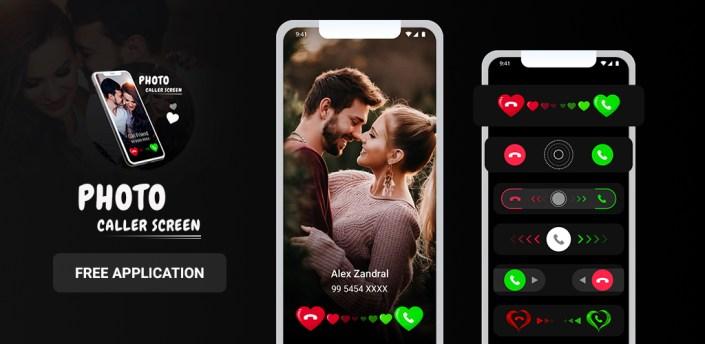 Photo Caller Full Screen – Caller Screen Themes apk