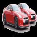2 Cars 1 Driver Icon