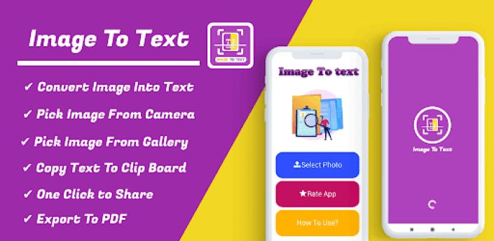 Image To Text Converter- OCR Scanner PDF Converter apk
