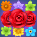 Flower Match Puzzle Icon
