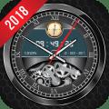 Luxury Watch Analog Clock Live Wallpaper Free 2018 Icon