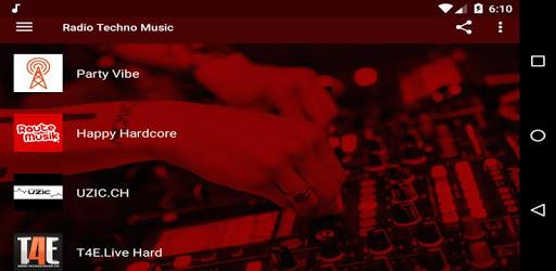 Radio Techno Music - Live Electronic For Free apk