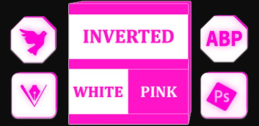 Inverted White and Pink Icon Pack ✨Free✨ apk