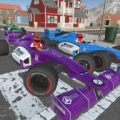 Formula Car Racing: Police Chase Escape Icon